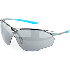 Alpina Splinter Shield VL Gafas, titan-cyan